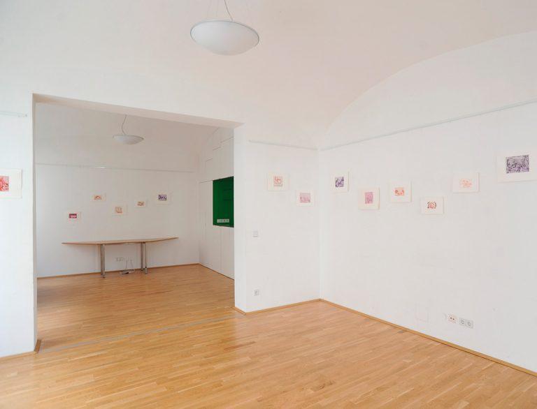 Ausstellungsansicht Gruene Galerie